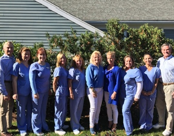 The Canal Side Family Dental staff